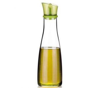 Aceitera antigoteo de cristal Tescoma