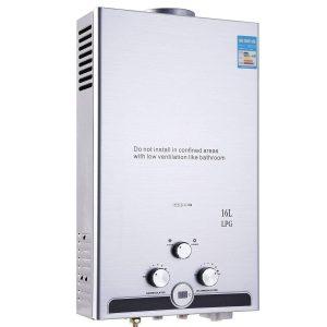 Calentador pequeño para cocinas de gas