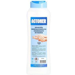 Gel hidroalcohólico de manos y superficies
