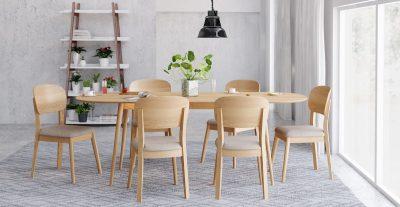 Mesas de cocina extensibles