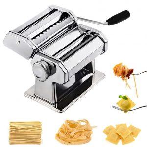 Máquina para hacer pasta con ajuste de espesor