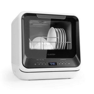 Mini lavavajillas con función vapor y secador