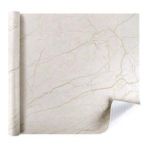 Papel adhesivo imitación del mármol de Rabbitgoo